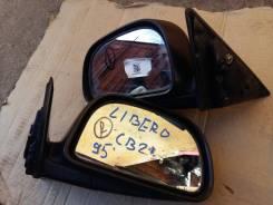 Зеркало заднего вида боковое. Mitsubishi Libero, CB2W