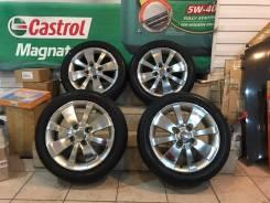 Комплект летних колес в отличном состоянии б/п по РФ. 6.0x16 4x100.00 ET45 ЦО 67,1мм.