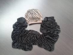 Шапка и шарф. 54, 55, 56, 57, 58, 55-59, 59, 60, 61, 62, 63