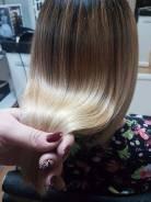 Кератиновое выпрямления, Bottox, нанопластика волос