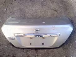 Крышка багажника. Nissan Tiida Latio, SZC11, SC11, SJC11, SNC11 Двигатели: HR16DE, MR18DE, HR15DE