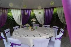 Оформление свадьбы, романтического вечера, юбилея