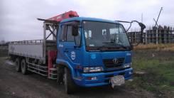 Nissan Diesel. Nissan Diezel манипулятор 12 тонн, 7 700 куб. см., 12 000 кг.