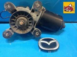 Мотор стеклоочистителя. Mazda Protege Mazda Training Car, BJ5P Mazda Familia, BJ3P, BJ5P, BJ5W, BJ8W, BJEP, BJFP, BJFW, YR46U15, YR46U35, ZR16U65, ZR1...