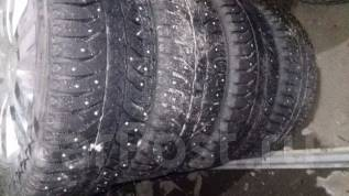 Bridgestone Ice Cruiser 7000. Зимние, шипованные, 2011 год, износ: 50%, 1 шт
