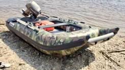 Лодка катамаран ПВХ Sun Marine SH-360 (military). Год: 2015 год, длина 3,60м., двигатель без двигателя, 25,00л.с., бензин