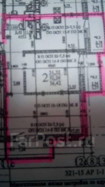 2-комнатная, шоссе Анапское 41а. Приморский, агентство, 56 кв.м.