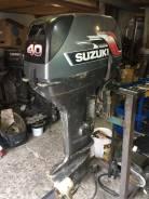 Suzuki. 40,00л.с., 2-тактный, бензиновый, нога L (508 мм), Год: 2005 год