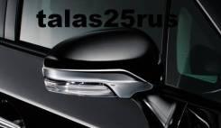 Накладки на зеркала Modellista для Toyota Prius 30, Prius Alpha. Toyota: Ractis, Wish, Prius a, Mark X, Venza, iQ, Camry, Prius