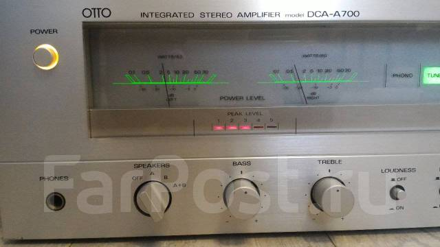 Усилитель OTTO/SANyo DCA-A700