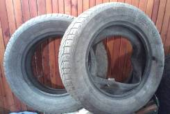 Bridgestone WT17. Зимние, под шипы, 2002 год, износ: 60%, 2 шт