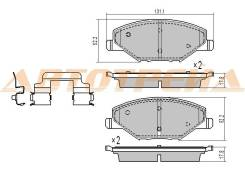 Колодки тормозные SKODA Rapid 12- (F0056779)