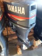 Yamaha. 55,00л.с., 2-тактный, бензиновый, нога S (381 мм), Год: 2008 год