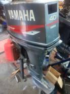 Yamaha. 40,00л.с., 2-тактный, бензиновый, нога L (508 мм), Год: 1996 год
