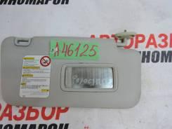 Козырек солнцезащитный (внутри) Subaru Forester 3 (SH, S12) 2007-2012г