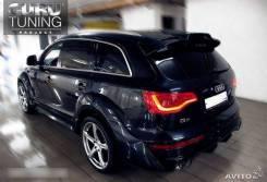 Обвес кузова аэродинамический. Audi Q7