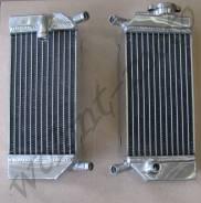 Радиаторы TRS-R-007 Серый Honda CRF250R CRF250X 2004-2009