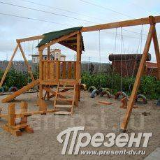 Ремонт детских площадок. Изготовление бетонных скульптур
