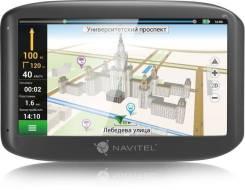 "Навигатор Автомобильный GPS Navitel E500 серый Navitel 5"" 800x480 8Gb"