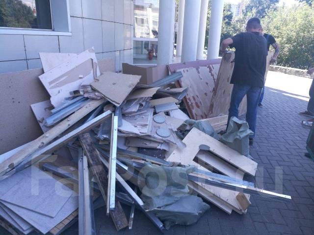 Вывоз строительного мусора, ТБО, вывоз снега, разнорабочие