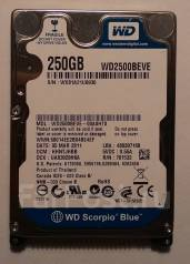 Жесткие диски 2,5 дюйма. 250 Гб, интерфейс IDE
