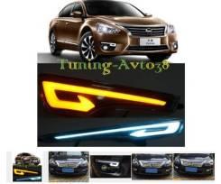 Ходовые огни. Nissan Teana, PJ32, TNJ32, J32 Двигатели: VQ35DE, QR25DE, VQ25DE