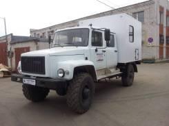 ГАЗ 3308 Садко. Продаю Техпомощь на базе ГАЗ 33088 Садко. Двухрядная кабина. Фургон., 4 500куб. см., 2 000кг.