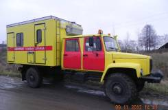ГАЗ-33081. Продаем атомобиль аварийной службы с двухрядной кабиной ГАЗ 33081, 4 500куб. см., 2 000кг.