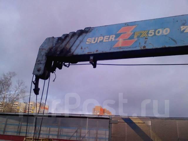 Mitsubishi Fuso Super Great. Продажа бортовой с манипулятором Mitsubishi Fuso, 1999, 12 000 куб. см., 10 000 кг.