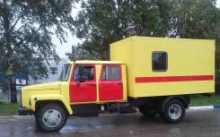 ГАЗ 3309. Атомобиль аварийной службы ЖКХ . Фургон., 4 500 куб. см., 4 500 кг.
