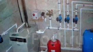 Монтаж систем отопления и котельных