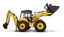 New Holland B115B. Экскаватор-погрузчик , 45 000 куб. см.