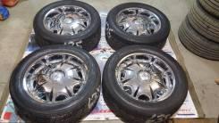 Бешеные хром колеса с полкой R20 6x139.7 из Японии!. 8.5x20 6x139.70 ET15