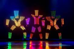 Новинка в световом шоу на ДВ ! Абсолютный эксклюзив ! Pixel SHOW !