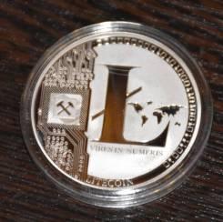 Монета Лайткоин (Litecoin LTC) отличный подарок для майнера