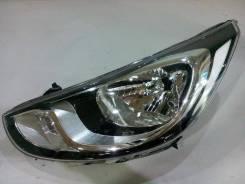 Фара. Hyundai Solaris, RB Двигатели: G4FC, G4FA. Под заказ