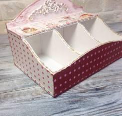 Короб для чайных пакетов. Под заказ