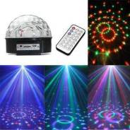 Светодиодная диско-полусфера. Диско шар Х400