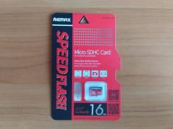 MicroSD. 16 Гб, интерфейс MicroSD