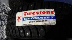 Firestone. Зимние, шипованные, 2017 год, без износа, 4 шт