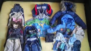 Вещи пакетом утеплённые для мальчика 1,5-3 года