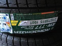 Roadcruza RW777. Зимние, без шипов, 2017 год, без износа, 4 шт