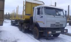 КамАЗ 54115. Продается КаМАЗ с полуприцепом, 2 000куб. см., 1 000кг.