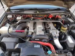 Двигатель в сборе. Toyota Mark II, JZX110 Двигатели: 1JZGE, 1GGTE, 1JZGTE, 1JZFSE