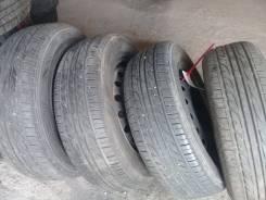 Продам хороший комплект летних колес 195/65-15 Dunlop на штампах. 6.0x15 5x114.30 ЦО 60,1мм.