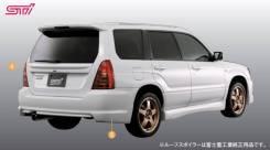 Накладка на бампер. Subaru Forester, SG9L, SG9, SG