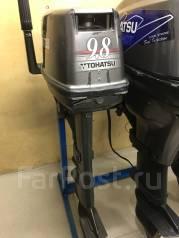 Tohatsu. 9,80л.с., 2-тактный, бензиновый, нога S (381 мм), Год: 1999 год