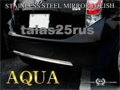 Накладка на бампер. Toyota Aqua, NHP10H, NHP10