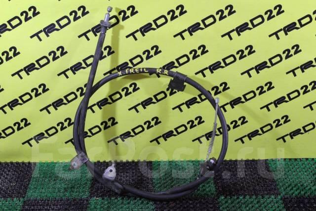 Тросик ручного тормоза. Nissan 100NX Nissan X-Trail, DNT31, T31R, T31, NT31, TNT31 Двигатели: M9R, MR20DE, QR25DE, M9R110, M9R127, M9R130, 110, 127, 1...