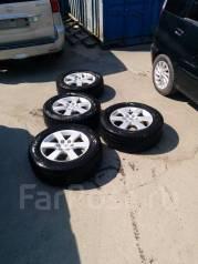 Продам комплект колес 265/60 R18 зима Mitsubishi Pajero 4. 7.5x18 6x139.70 ET45